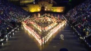Massed Pipe Bands-Edinburgh Military Tattoo