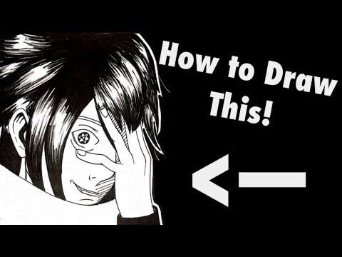 How To Draw Sharingan Myhiton