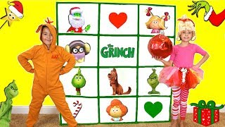 THE GRINCH MOVIE GIANT SMASH SURPRISE TOYS GAME: Find The Grinch's Heart!