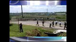 Accidente aéreo, se desploma avioneta en la Autopista México  Querétaro