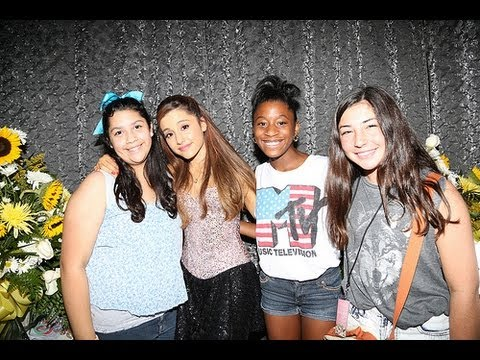meet and greet ariana grande 2013 vine