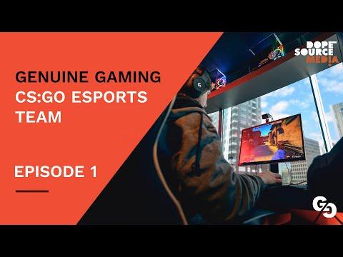 EPISODE 1 - GENUINE GAMING CS-GO ESPORTS TEAM - Australia NZ CS-GO FINALS 2019