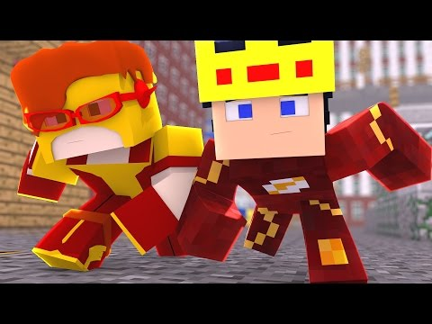 Minecraft : VIDA DE HERÓI - RESSURGE A GRANDE S.T.A.R. Labs [06] (THE FLASH)