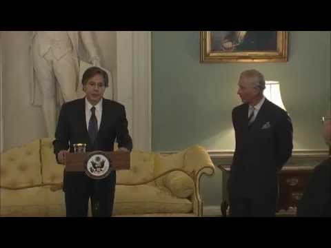 Dep. Sec. Blinken Co-Hosts Marshall Scholars Anniversary with HRH The Prince of Wales