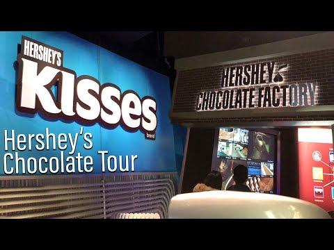 HERSHEY'S Chocolate Tour at HERSHEY'S Chocolate World (FULL RIDE)