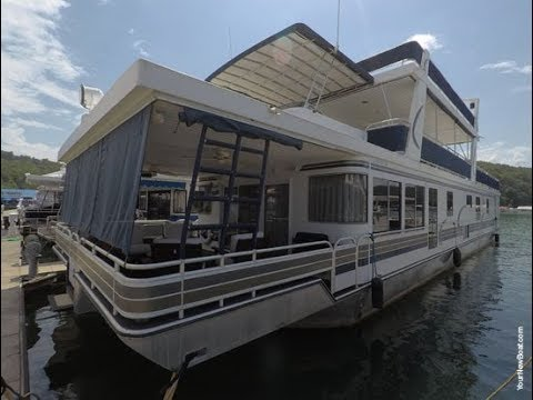 2003 Horizon 19 x 86WB Houseboat For Sale on Norris Lake TN