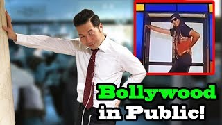 BOLLYWOOD SONGS IN PUBLIC!! (Sheila Ki Jawani, Lovely, Tu Cheez Badi Hai, Tunak Tunak Tun)
