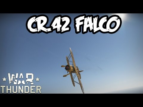 War Thunder Squad Gameplay - CR.42 Falco - Realistic Battle