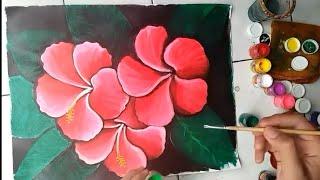 Melukis bunga