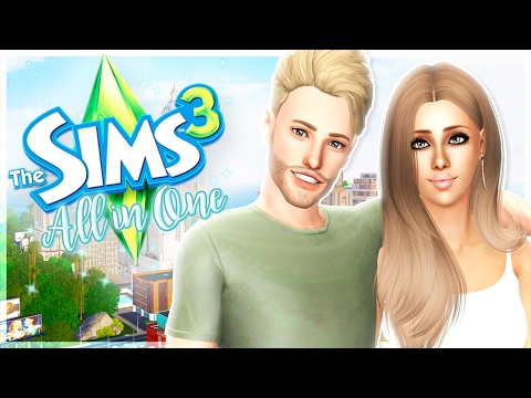 The Sims 3: All in One   Part 1 - Introducing Penny & Remington!
