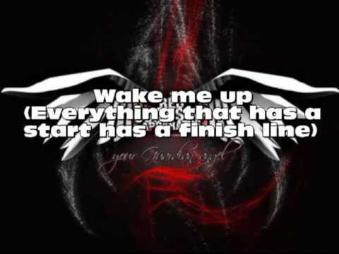 The red jumpsuit apparatus - Wake me up (lyrics)
