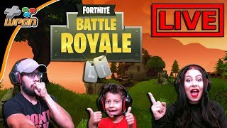 Live | FORTNITE Battle Royale | Family Gameplay | New Update Fun