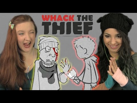 A BOY AND HIS WHACK | Girls Play | Whack the Thief