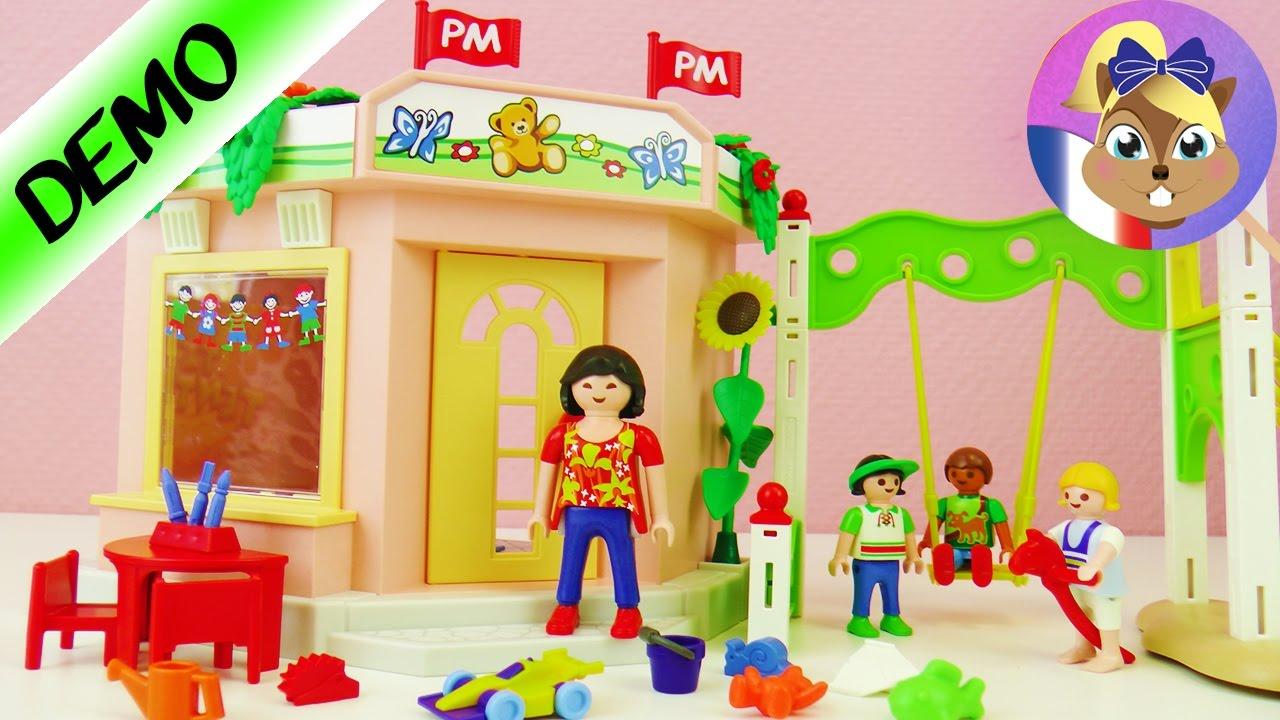 Playmobil City Life Jardin Pour Enfants 5634 Avec Aire De Jeu Et Table De Bricolage