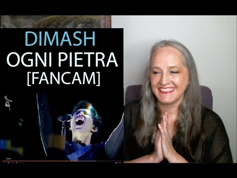 Voice Teacher Reaction to Dimash Kudaibergen Ogni Pietra Arnau [FANCAM]
