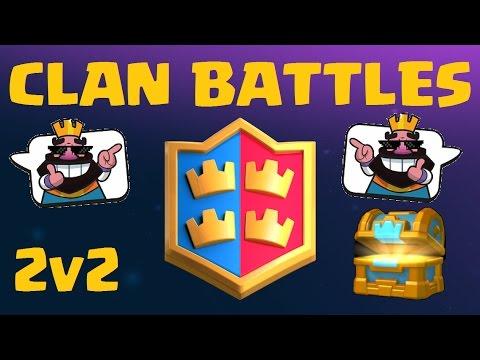 Clan Battle Sneak Peek | Clash Royale March Update