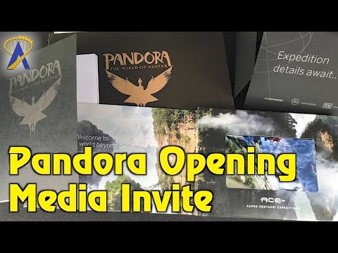 Unboxing Pandora - The World of Avatar Media Invite