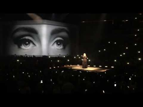 Adele Hello live American Airlines Center Dallas,TX November 2nd 2016