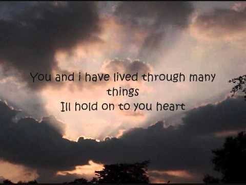 James Blunt - Cry lyrics on screen