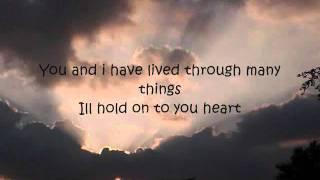 James Blunt - Cry lyrics on screen