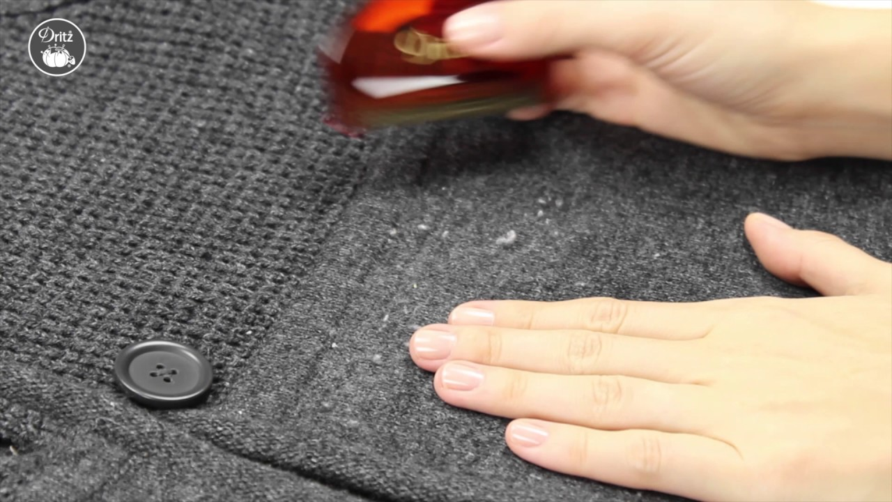 How To Use The Dritz Clothing Care Sweater Comb
