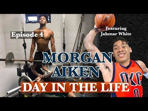 "Pro MORGAN AIKEN: Day In The Life, ""EXPLODE LIKE WESTBROOK, Lifting Routine"" Episode 4"