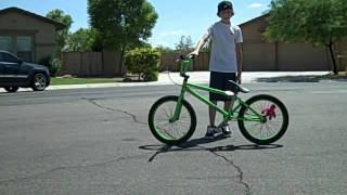 How to Wheelie on a BMX Bike