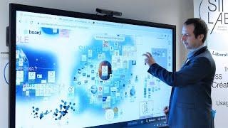 Témoignage sur l'utilisation de l'écran interactif en entreprise : le SIILAB
