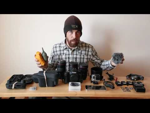 Backpacking Photographer - Packing for Travel