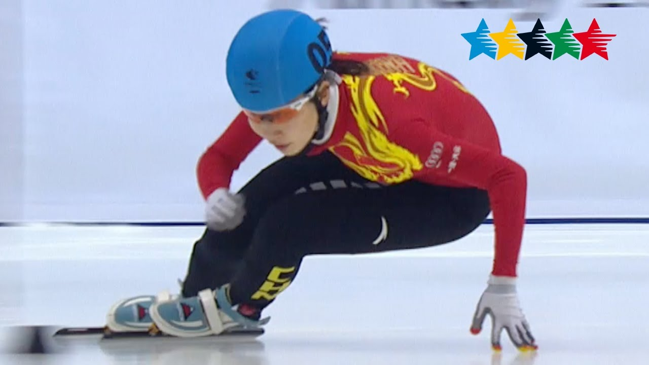 Short track speed skating women