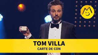 Tom Villa - Carte de con