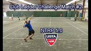 NTRP 5.0 - Andrew vs Todd - Club Challenge Match Highlights #2