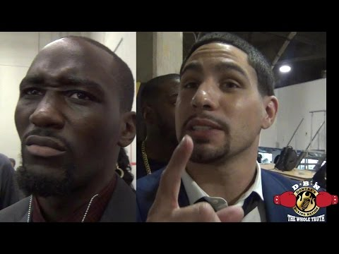 AFTER A HEATED EXCHANGE TERENCE CRAWFORD CALLS OUT DANNY GARCIA AND GARCIA..
