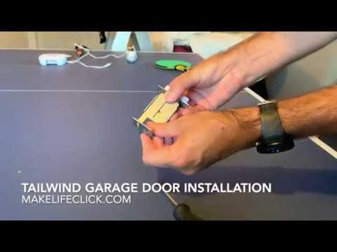 Tailwind Garage Door Installation Review Video