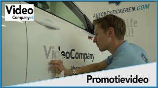 Een van onze auto's werd bestickerd en wij filmden het ! - VideoCompany