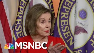 'that's Bribery': Speaker Pelosi Says Trump Committed Bribery, An Impeachable Offense   Msnbc