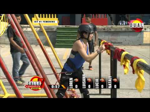Calle 7 Panamá - Competencia 1 hit 1 mujeres 9 feb