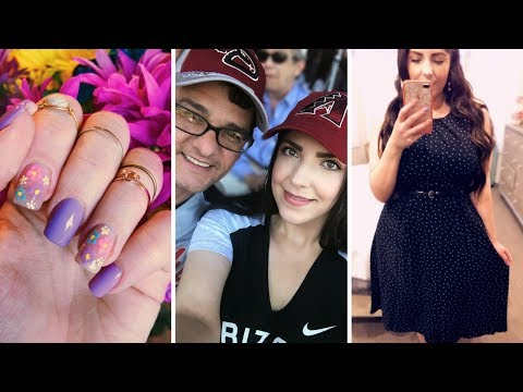 VLOG | Spring Training w/Chris, Conference Weekend, Easter Nails