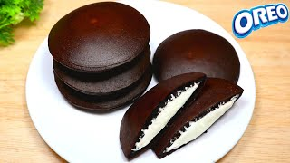 Oreo biscuit dora cake 4 ingredients | dorayaki soft and delicious