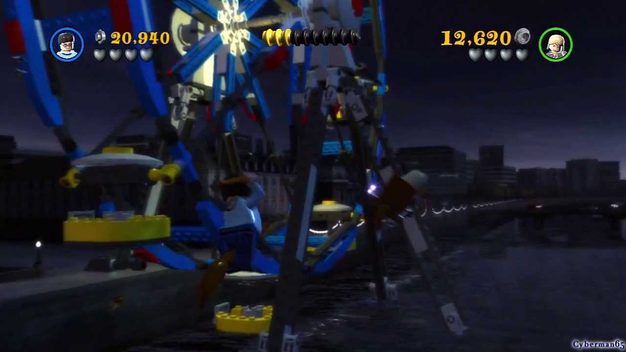 Lego Harry Potter Years 5 7 Co Op Ps3 Part 01 Opening Dark Times Youtube