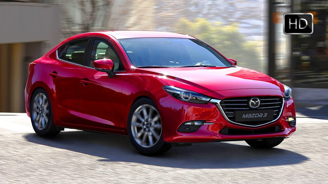 2017 Mazda 3 Sedan Facelift Exterior Interior Design Road Drive Hd Video You