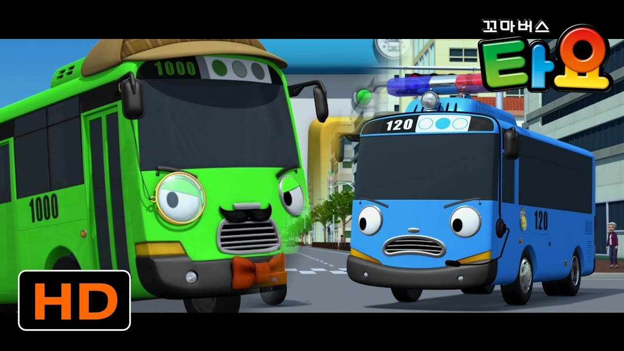 Tayo Popular Episodes Compilation l Tayo becomes a police officer l Brave Cars l Tayo the little bus