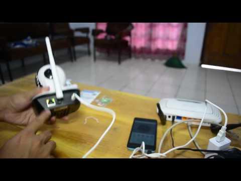 cara instalasi wireless cctv ip memory card