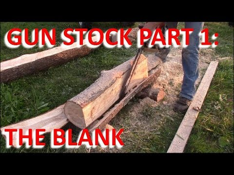 How to Make a Gun Stock From Scratch: Part 1 The Blank