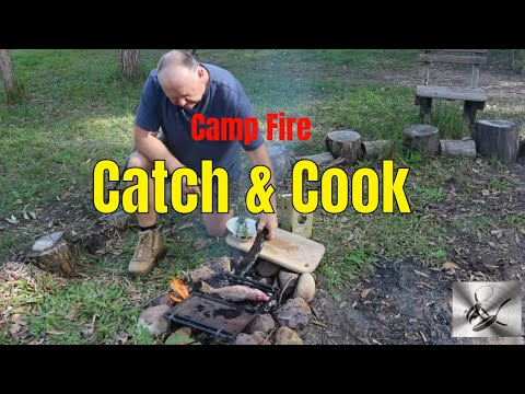 Camp Fire Catch & Cook | Fishing & Cooking Reef Fish | TheHook&TheCook