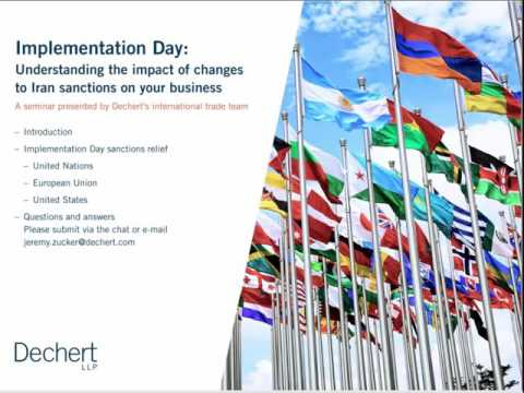 Implementation Day: Understanding the Impact of Changes to Iran Sanctions on Your Business