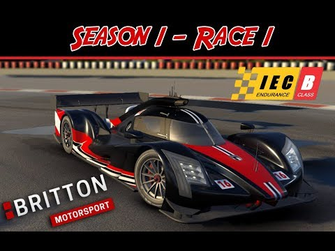 Motorsport Manager - International Endurance Series - Season 1 Race 1 - Britton Motorsport P1