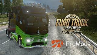 ???? Lajwidło - Euro Truck Simulator 2 Multiplayer + PROMODS! - Na żywo