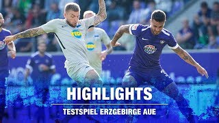 HIGHLIGHTS - TESTSPIEL IN AUE - Hertha BSC