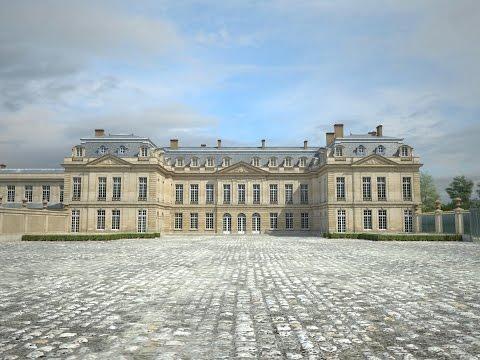Histoire du château de Choisy-le-Roi et reconstitution en 3D du domaine royal.